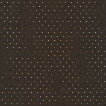 Bygone Browns 0881-0161 Brown Dots by Marcus Fabrics