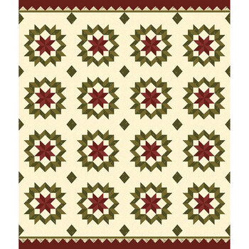 Buttermilk Basics P9189-WINTER Panel by Stacy West for Riley Blake Designs