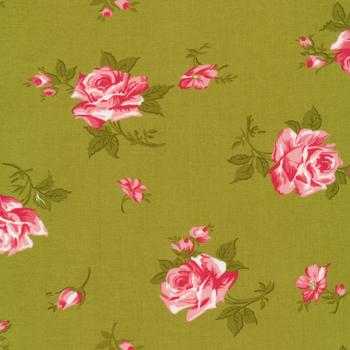Pocketful of Posies 33541-16 Sprig by Chloe's Closet for Moda Fabrics
