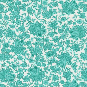 Pocketful of Posies 33543-13 Sky by Chloe's Closet for Moda Fabrics
