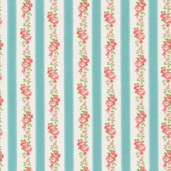Pocketful of Posies 33545-21 Sky by Chloe's Closet for Moda Fabrics