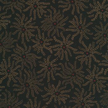 Ebony & Onyx 6991-99 Starburst Floral by Henry Glass Fabrics