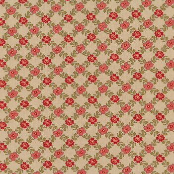 La Rose Rouge 13886-15 Roche by French General for Moda Fabrics