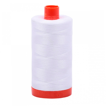 Aurifil Cotton Thread #2024 - White - 1422yds