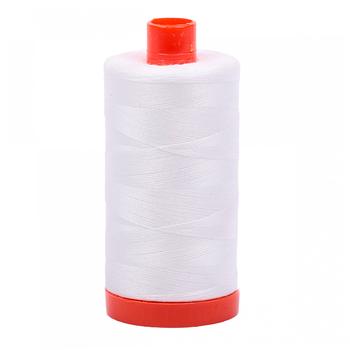 Aurifil Cotton Thread #2021 - Natural White - 1422yds