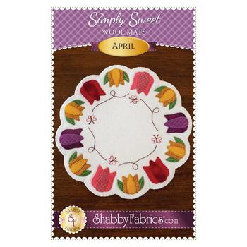 Simply Sweet Mats - April - Pattern