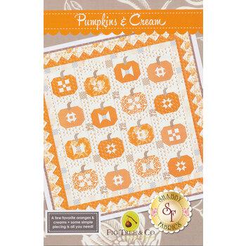 Pumpkins and Cream Pattern