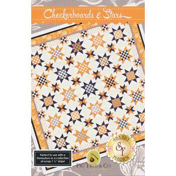 Checkerboards & Stars Pattern