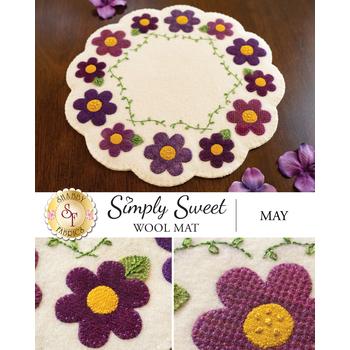 Simply Sweet Mats - May - Wool Kit