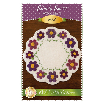 Simply Sweet Mats - May - Pattern