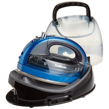 Panasonic 360° Freestyle Cordless Iron - Metallic Blue
