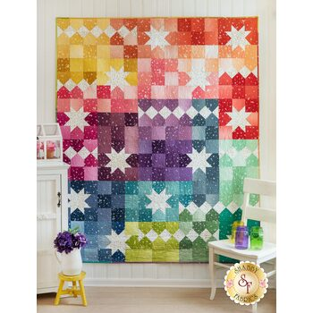 Ombre Carnival Quilt Kit