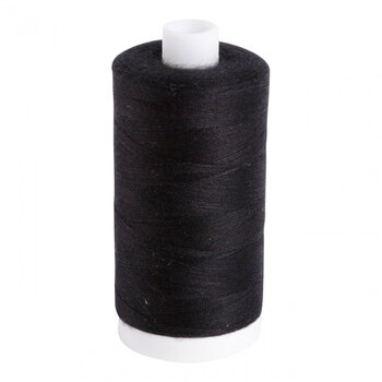 Aurifil Cotton Thread #1161 - Black - 1531yds - Bobbin Thread