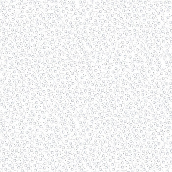 Quilter's Flour II 9419-01W White on White Berries by Henry Glass Fabrics