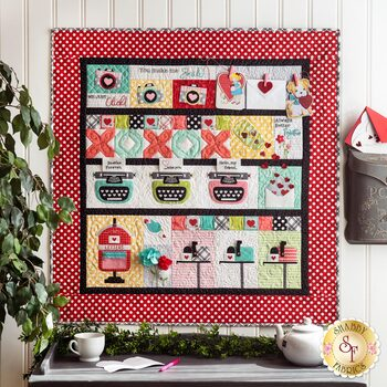 Love Notes Mystery Quilt Kit - Sewing Version w/ Laser Cut Applique