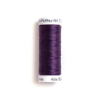 Sulky 12 wt Cotton Petites Thread #1112 Royal Purple - 50 yds