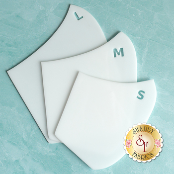 Face Mask Templates (3 Sizes)
