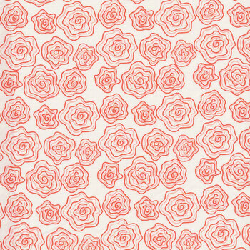 From the Heart C10052-Cream Roses by Riley Blake Designs