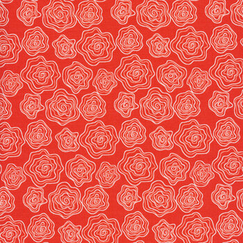 From the Heart C10052-Red Roses by Riley Blake Designs