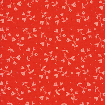 From the Heart C10055-Red Flowers by Riley Blake Designs