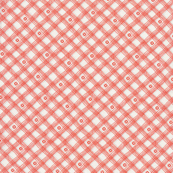 From the Heart C10056-Cream Checks by Riley Blake Designs