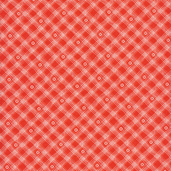 From the Heart C10056-Red Checks by Riley Blake Designs