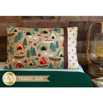 Magic Pillowcase Kit - Camping Crew - Travel Size - Tan
