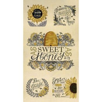 Bee Grateful 19960-11 Panel Parchment by Deb Strain for Moda Fabrics