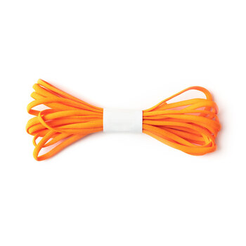 "Banded Stretch Elastic - Orange - 1/6"" x 4 yards"