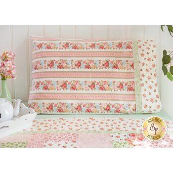 Magic Pillowcase Kit - A Peaceful Garden Flannel - Standard Size