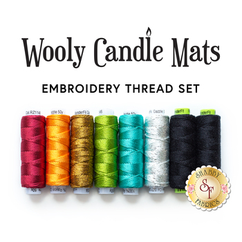 Wooly Candle Mat Club - 8pc Embroidery Thread Set