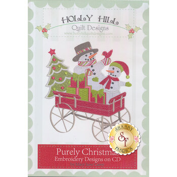 Purely Christmas Machine Embroidery CD