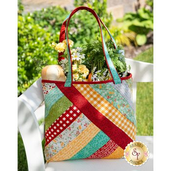 Quilt As You Go Alexandra Tote Kit - Cultivate Kindness