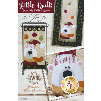 Little Quilts Monthly Table Toppers - December - Pattern