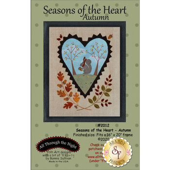 Seasons Of The Heart - Autumn - Pattern with Panel