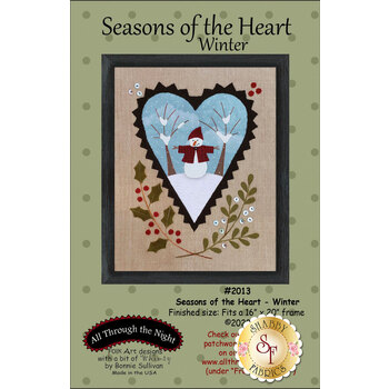 Seasons Of The Heart - Winter - Pattern with Panel