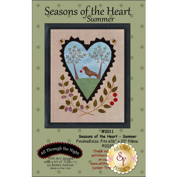 Seasons Of The Heart - Summer - Pattern with Panel