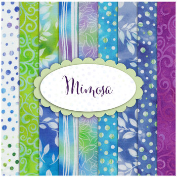 Mimosa  9 FQ Set by Quilting Treasures Fabrics