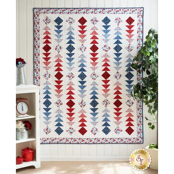 Diamonds And Geese Quilt Kit - Summertime
