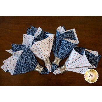 Cloth Napkins Kit - Summertime - Makes 4