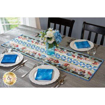 Pinwheel Stripe Table Runner Kit - Flower Market