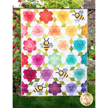 Bumblebee Blossoms Quilt Kit