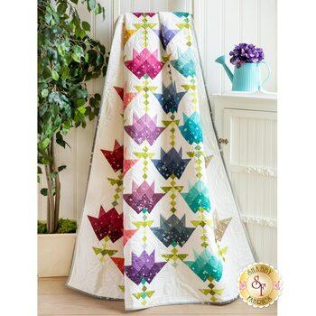Ombre Flower Bouquet Quilt Kit