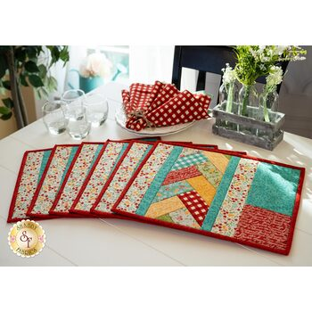 Quilt As You Go Venice Placemats Kit - Cultivate Kindness - Makes 6