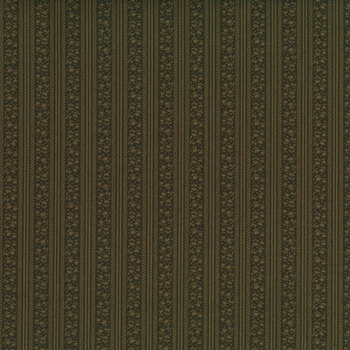 Abby's Treasures 1319-66 Green Tulip Stripe by Blank Quilting Corporation