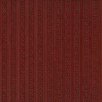 Abby's Treasures 1319-88 Red Tulip Stripe by Blank Quilting Corporation