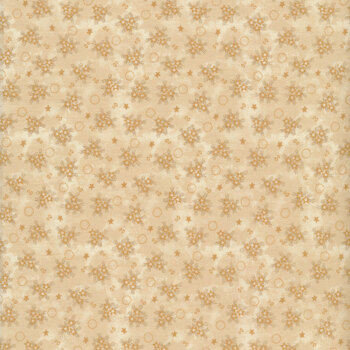 Abby's Treasures 1322-41 Ivory Star Clusters by Blank Quilting Corporation