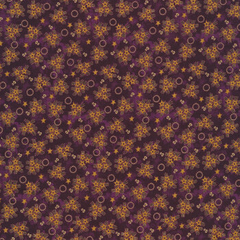 Abby's Treasures 1322-55 Purple Star Clusters by Blank Quilting Corporation