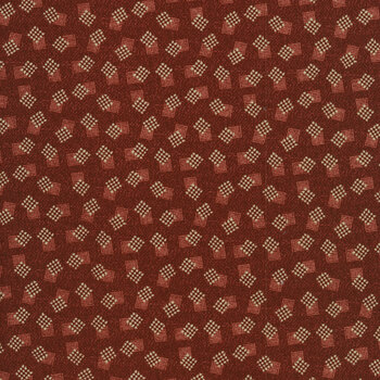 Abby's Treasures 1325-88 Red Squares by Blank Quilting Corporation