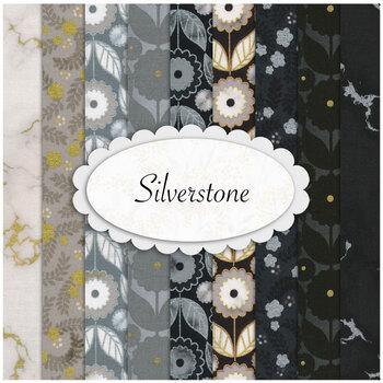 Silverstone  9 FQ Set by Robert Kaufman Fabrics